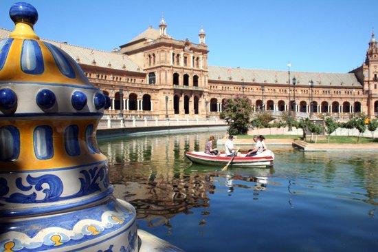 Place d'Espagne : Particolare delle magnifiche ceramiche