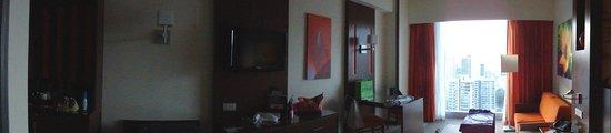 Hotel Riu Plaza Panamá: Room Panoramic view