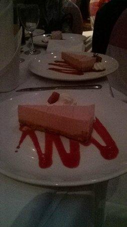 Loughshore Hotel : dessert