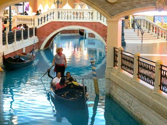 Gondola ride picture of casino at venetian macao macau tripadvisor casino at venetian macao gondola ride altavistaventures Choice Image