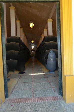 The House of Sandeman Jerez: Interior