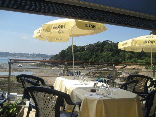 Hotel BelleVue : terrasse