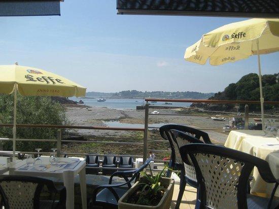 Hotel BelleVue : terrasse bien agréable