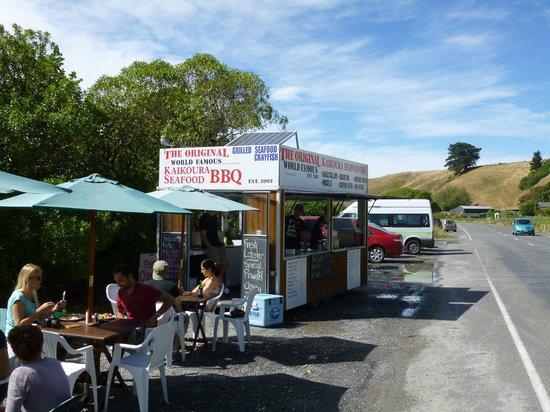 Kaikoura Seafood BBQ Kiosk: charming!