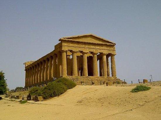 Tempio della Concordia: Agrigento