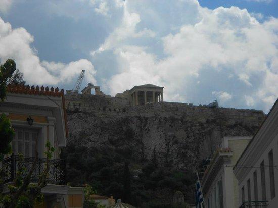 Monastiraki: Acropolis View