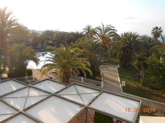 Palm Beach Club Hammamet: vue de ma chambre