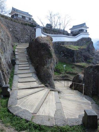 Usuki Castle Ruin: 登城道
