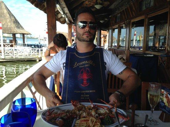 Lorenzillo's : Vamos comer