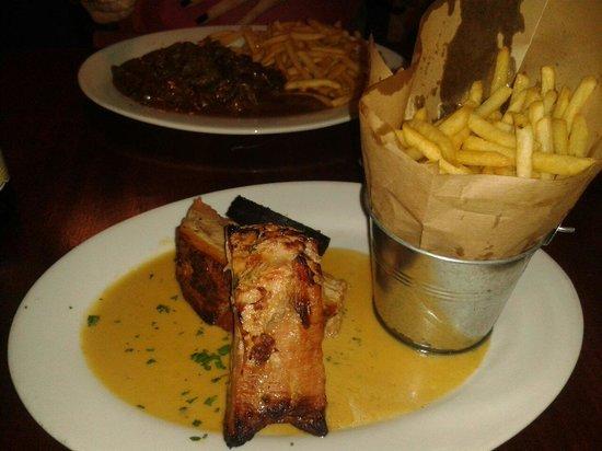 Henry Yeast: Hmmmm...Belly Pork n Black Pudding.