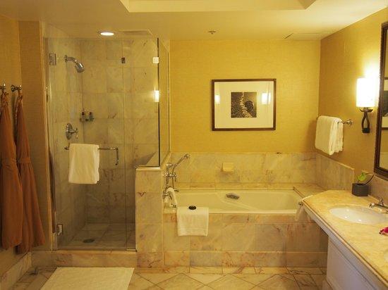 Four Seasons Resort Maui at Wailea: Shower and Bath