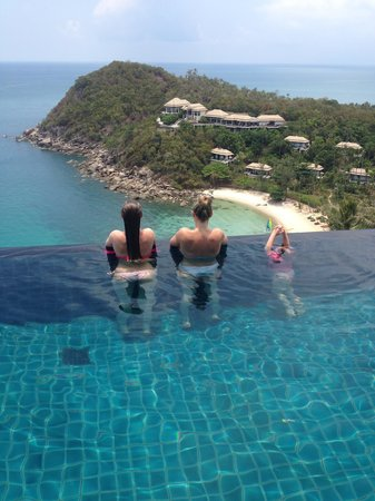 Banyan Tree Samui : villa pool