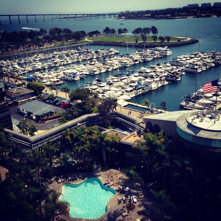 Marriott Marquis San Diego Marina: Room with a view