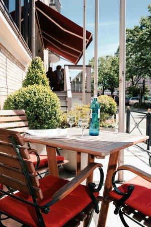 Best Western Plus Hotel St. Raphael : Terrasse