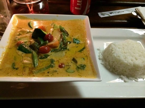 Royal Siam Thai @Wilderness: red thai curry