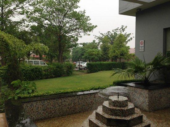 Radha Ashok at Brij Vasundhara: Room view