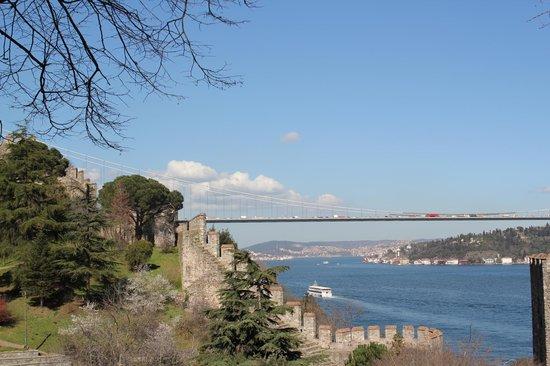 Rumeli Hisarı (Festungsanlage): Did someone say a view?