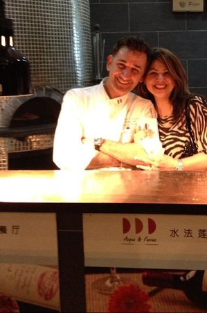 Acqua e farina italian Restaurant : Me and Samun