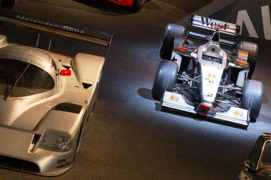 Mercedes-Benz Museum: Mika Häkkinen's Formula 1 car