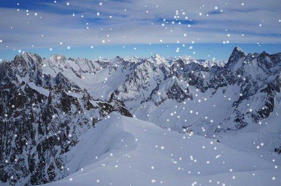 Mont Blanc: Vista do Montblanc