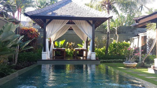 The Ulin Villas & Spa : Pool