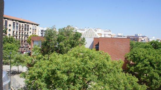 Huelva Inturjoven Youth Hostel: Вид из номера