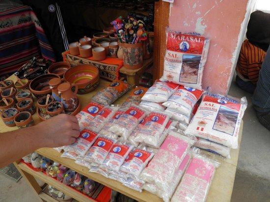 Salinas de Maras: melhor local para comprar lembrancinhas