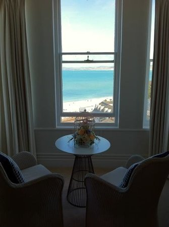 St. Ives Harbour Hotel & Spa: Wall to Wall Sun!
