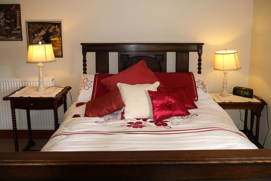 The Braighe Bed and Breakfast: Oriental themed bedroom