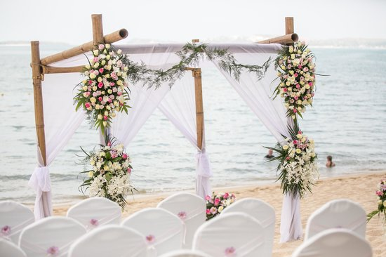 Bo Phut Resort & Spa: Beautiful Wedding setting