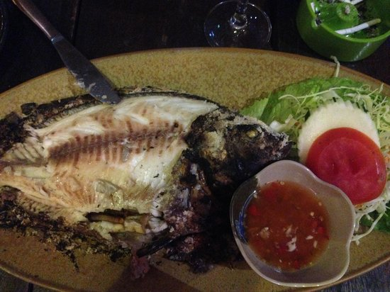 Thai Simple Kitchen: Fish seabass