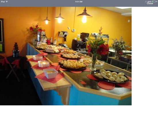 The Turnover Cafe: Call us about having a private party