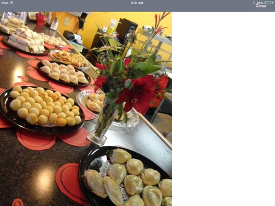 The Turnover Cafe: Party platters