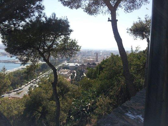 Parador de Malaga Gibralfaro : Views