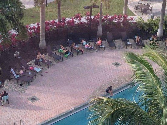Miami Airport Marriott: Vista desde la habitación