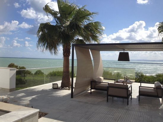 Mövenpick Hotel Gammarth Tunis: La vue depuis le restaurant