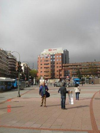 ibis Madrid Centro Las Ventas: Vendo o hotel da Plaza de Toros