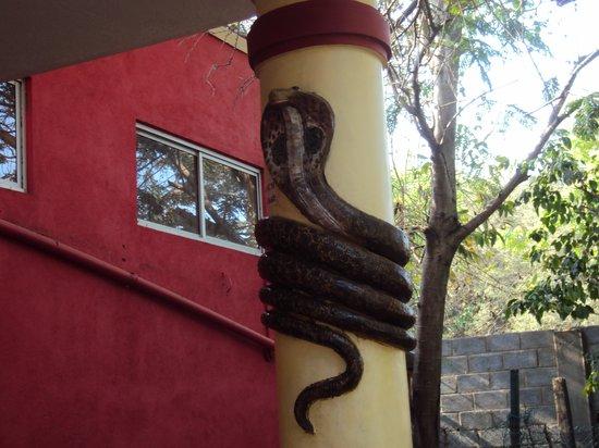 Guindy Snake Park: the gate
