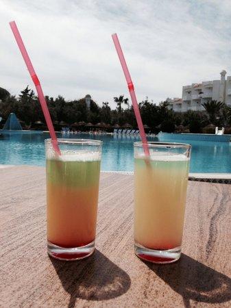 Hammamet Garden Resort & Spa : Bon petit cocktail