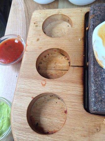 Buena Vista : So serviert man hier das essen!!!!!!!