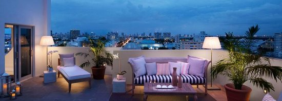 Sls South Beach Suite Balcony