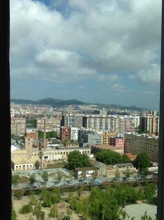Melia Barcelona Sky : vista desde la habitacion