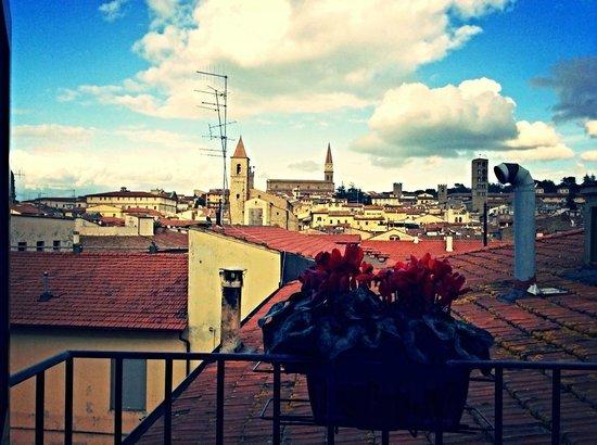 Hotel Portici Arezzo, Tuscany: Vista, Hotel Arezzo Centro storico,vicino stazione,Tel. 0575299901,www.hotelporticiarezzo.com