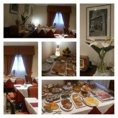Hotel Portici Arezzo, Tuscany: Colazione, Hotel Arezzo Centro storico,vicino stazione,Tel. 0575299901