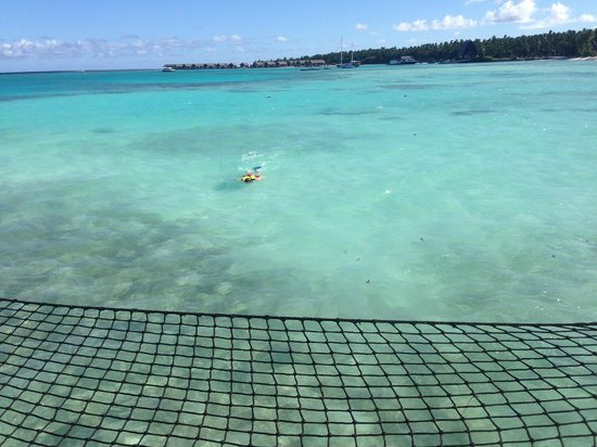 Shangri-La's Villingili Resort and Spa Maldives: view from water villa