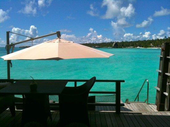 Shangri-La's Villingili Resort and Spa Maldives : water villa