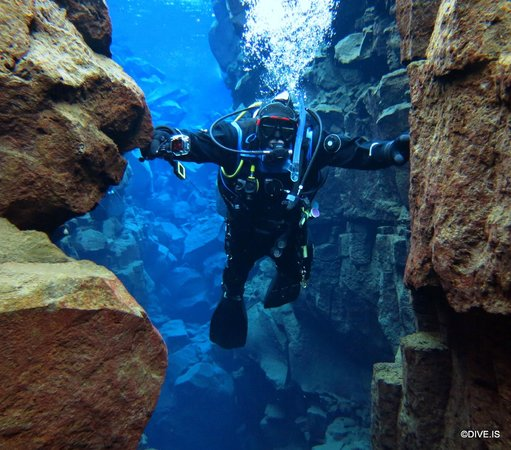 DIVE.IS: Bridging the gap between the North American and Eurasian tectonic plates, April 20, 2014