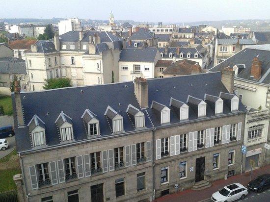 Mercure Limoges Royal Limousin Hotel : Vistas impresionantes de la ciudad de Limoges