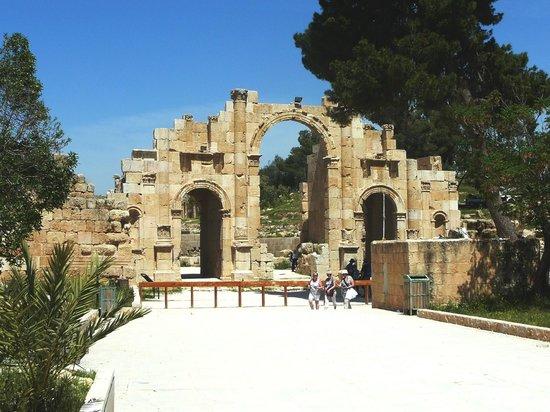 Ruinen von Gerasa: Ingresso