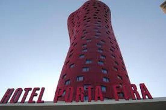 Hotel Porta Fira: Frente